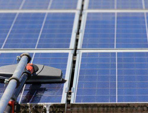 Photovoltaikanlagenreinigung