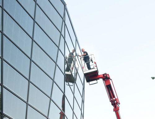 Gebäudereinigung aussen