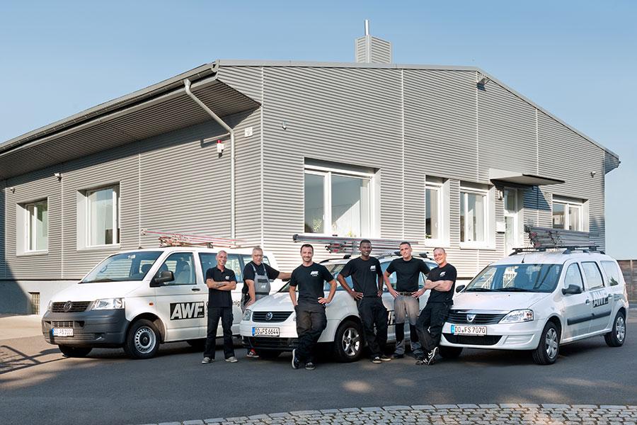AWF Gebäudereinigung Team